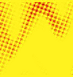 abstract pop art style yellow dotted background vector image vector image