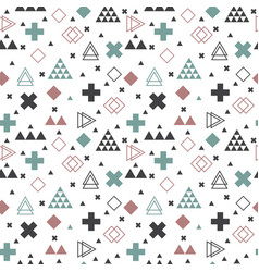 Geometric scandinavian seamless pattern abstract vector