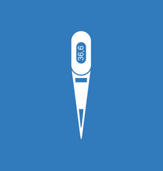 Icon electronic thermometer vector