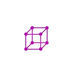 Cube icon concept for design vector