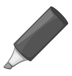 marker icon monochrome vector image