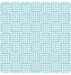 square chevron pattern background blue green vector image vector image
