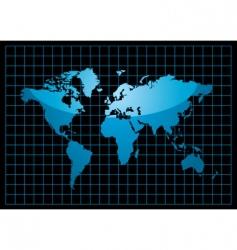 world black vector image