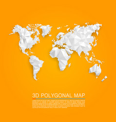 Map 3d polygon vector