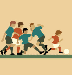 football prodigy vector image