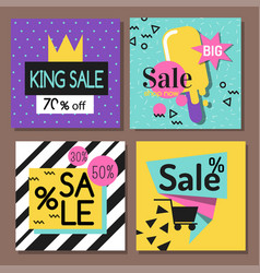 Special offer big sale flayer vector