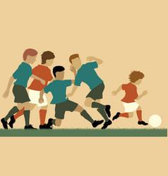 Football prodigy vector