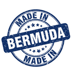 Made in bermuda vector