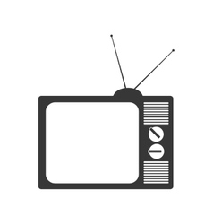 Tv television vintage retro icon graphic vector