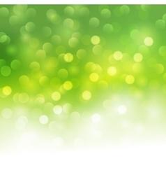 bokeh light background vector image