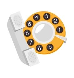 Cab taxi service phone vector
