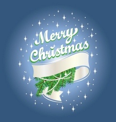 Christmas ribbon free vector