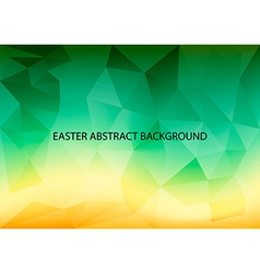 Easter Abstract Background vector image