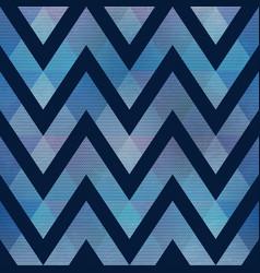 grunge geometric waves pattern vector image