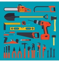 Hardware tools set vector