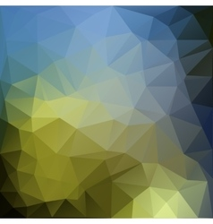 Poligonal of colored abstract vector