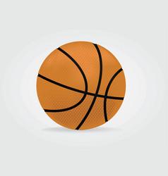 basdketball ball vector image