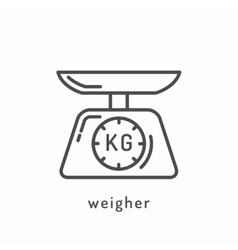 Healthy diet icon vector
