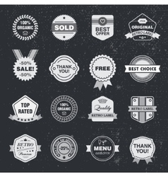 Design template set collection for making vector