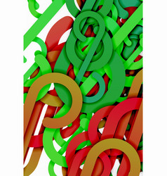 stripe knot abstract background vector image
