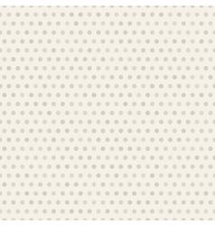 Seamless polka dot brown pattern with circles vector image