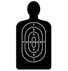 Human shape target vector
