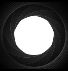 shutter frame vector image vector image