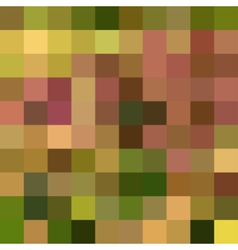 Autumn colorful abstract mosaic background vector