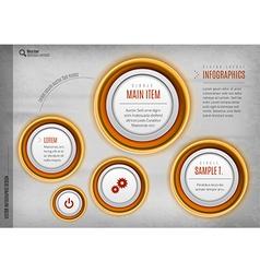 Circles Design vector image