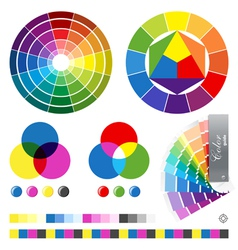 color guides vector image vector image