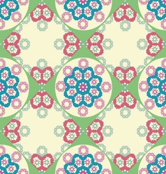 geometric pattern vintage style vector image vector image