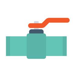 industrial valve icon vector image