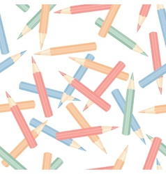 Seamless pencils vector