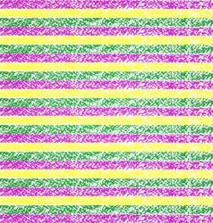 Mardi Gras pastel crayon striped background vector image vector image
