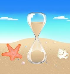 seaside scene vector image