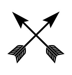 Arrow western cowboy icon graphic vector