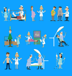 Set on the theme of health vector