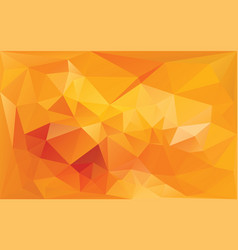 Abstract background in yellow orange colors vector