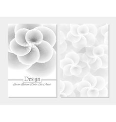 Abstract booklet cover beauty brochure vector