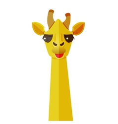 animals flat design vector image vector image