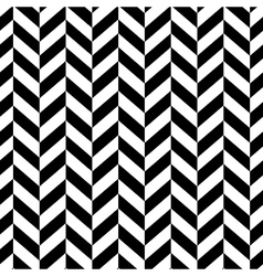 chevron classic pattern vector image vector image