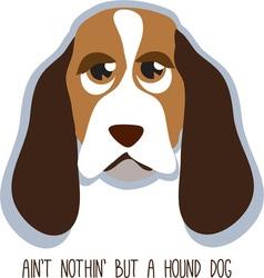 Hound dog vector