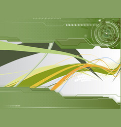 Modern perspective composition vector