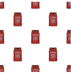 Basketball jerseybasketball pattern icon in vector