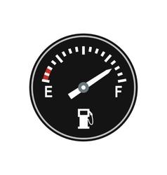 Fuel gauge flat icon vector