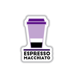 Label frames and badges icons coffee emblem vector