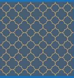 Seamless pattern moroccan vintage style vector
