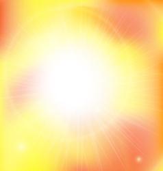 Sun Abstrect vector image