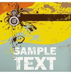 Grunge Background for Design vector image