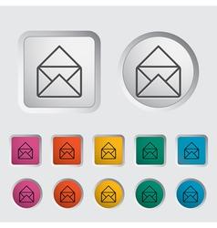 Envelope icon vector image vector image